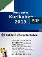 PPT Pengantar Kurikulum 2013