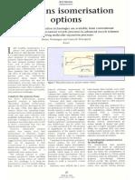 Paraffins Isomerization Options-English