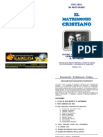 Estudios Filadelfia - El Matrimonio Cristiano