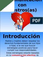 Diapositivas - La Comunicación Padres a Hijos