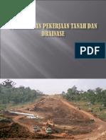 Pekerjaan Tanah Dan Drainase