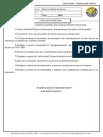 1º SERIE - Sociologia 1ª Série