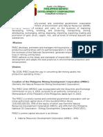 Company Overview PMDC