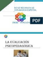 Evaluacion Psicopedagógica
