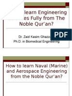 Learning Naval Engineering from The Qur'an