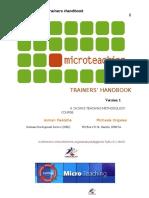 Micro Teaching Training