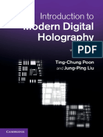 Introduction to Modern Digital Holography With Matlab.pdf