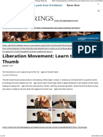 Learn to Free Your Thumb – Strings Magazine