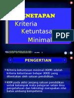2.1 Penetapan KKM