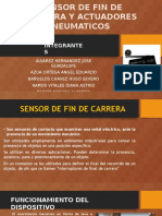Sensor de Fin de Carrera y Actuadores Neumaticos