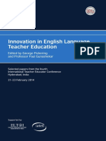 Innovation in English Language Teacher Education