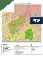 Áreas protegidas de la cuenca del río Toro