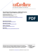 Thyroid Strom During Pregnancy Journal