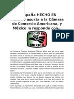 Campaña HECHO EN MÉXICO