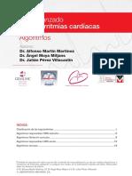 Manejo Avanzado de las Arritmias Cardiacas. Algoritmos Dr. Alfonso Martín Martínez, Dr. Ángel Moya Mitjans, Dr. Julián Pérez Villacastín.pdf