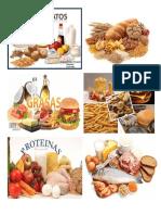 Tipos de Vitaminas, Proteinas, Carbohidratos, Grasas y Minerales