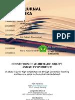 Jurnal Internasional Matematika