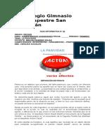 Guía Informativa 01 - Competencias 10