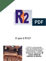 apresentação r12 slides