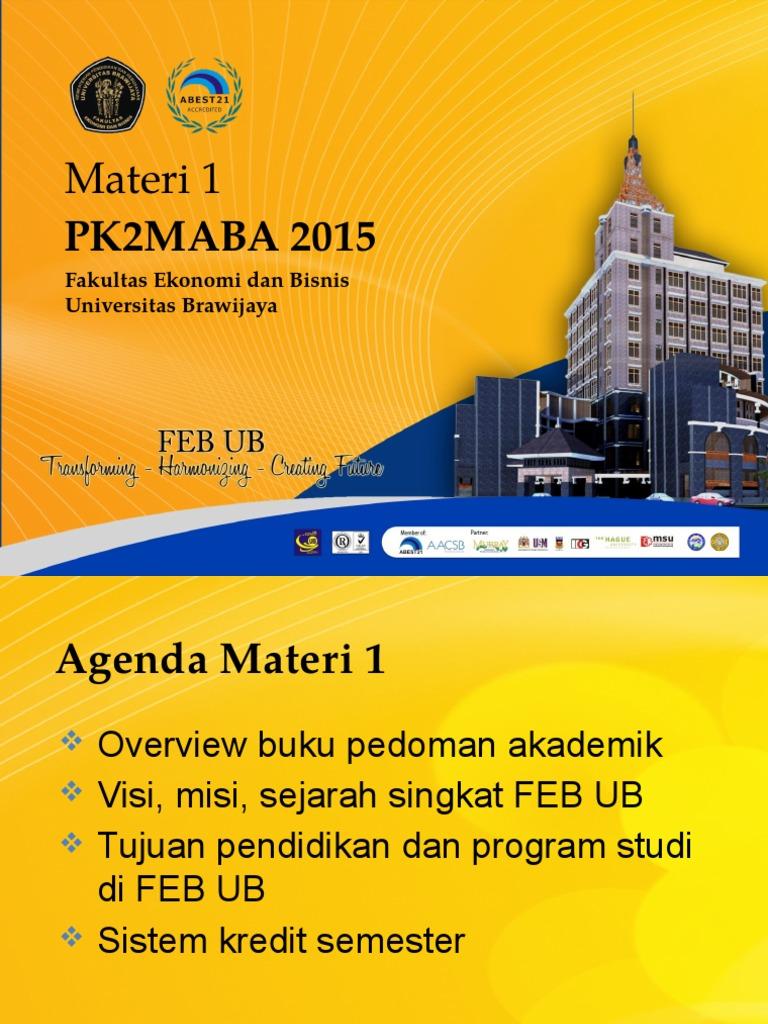 Ordik 2015 Materi 1 Feb Ub