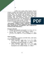 """""""PENGARUH CURRENT RATIO, EARNING PER SHARE DAN RETURN ON EQUITY TERHADAP RETURN SAHAM PADA PERUSAHAAN AUTOMOTIVE AND COMPONENTS DI BURSA EFEK INDONESIA""""..doc"""