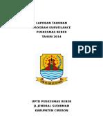 Laporan Tahunan Surveilans 2014 -HALAMAN