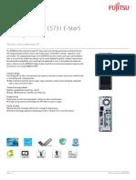 Fujitsu Esprimo C5731 DataSheet