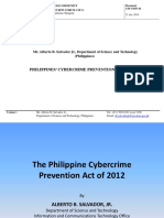 CSF 5 INP 18 PH Cybercrime Prevention Act