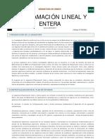 Programación Lineal (II)