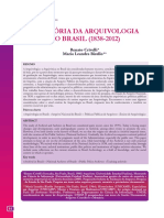 A História Da Arquivologia No Brasil