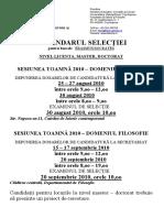 Selectie Erasmus 2010