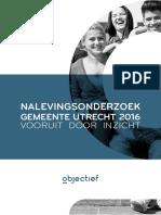 Nalevingsonderzoek Gemeente Utrecht Objectief 2016 Lr-1(1)