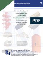 0-Bore Pile Drilling Tools