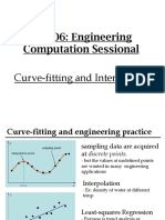 CE206 Curvefitting Interpolation 4