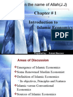 Chapter 1 Introduction to Islamic Economics