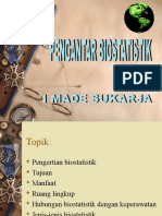Pengantar Biostatistik WIKA 2