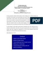 Module - 2 Physics of Welding Arc
