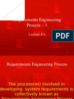 Requirements Engineering Process - I