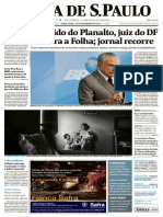 Folha de S.Paulo - capa
