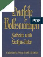 Hoffmann, Fritz Hugo - Deutsche Volksmärchen, Fabeln und Schwänke; Ludendorffs Verlag 1935,.pdf