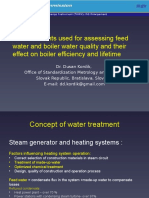 Feed Water Measurements