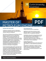 Master of Petroleum Eng Brochure