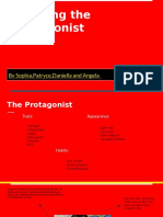 Planning - Finding a Protagonist