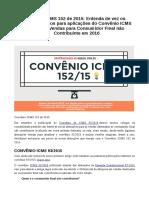 Difal Convenio 152_2015