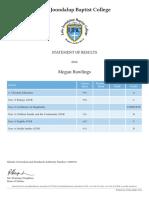 semi 2 school report