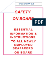 Seafarers Essential Information Booklet