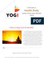 What is Yoga and It's Benefits