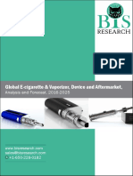 Global E-cigarette & Vaporizer, Device and Aftermarket, Analysis and Forecast, 2016-2025
