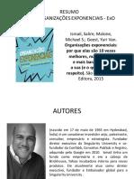 Resumo_Organizacoes+Exponenciais