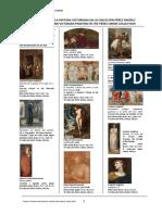 Listado de Obras Pintura Victoriana